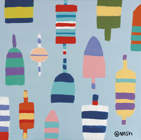 Brian Nash - Buoys Blue