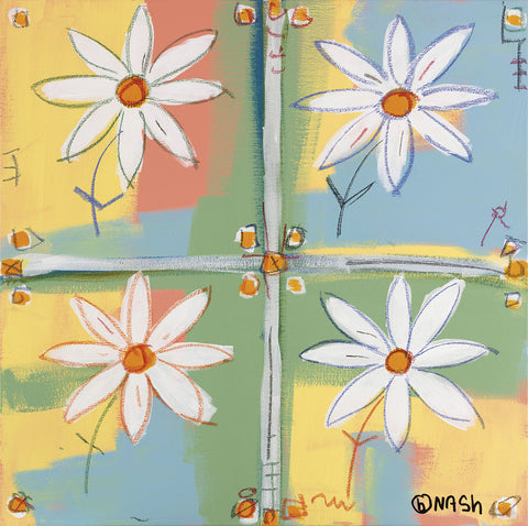 Four Daisies -  Brian Nash - McGaw Graphics