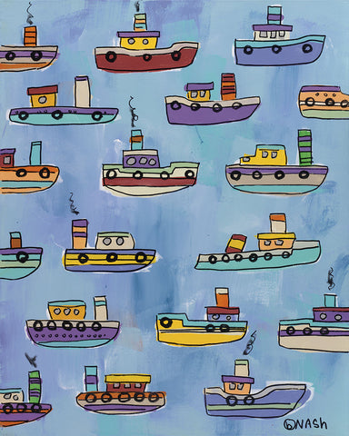 Tugboats -  Brian Nash - McGaw Graphics