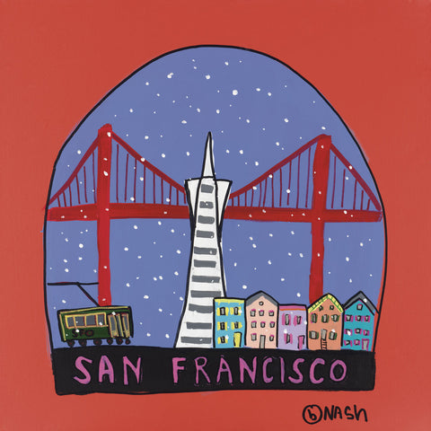 Brian Nash - San Francisco Snow Globe