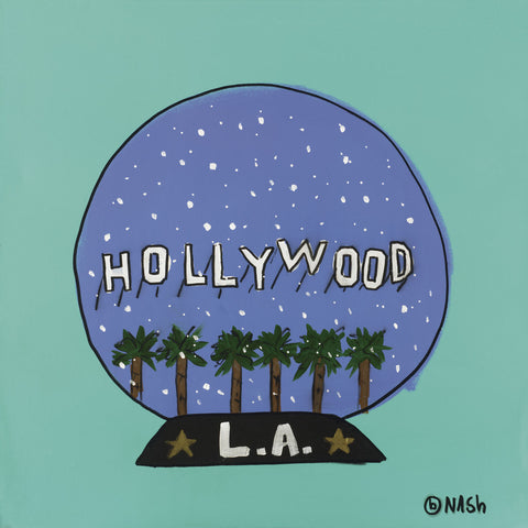 Hollywood Snow Globe -  Brian Nash - McGaw Graphics