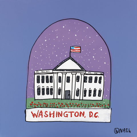 Brian Nash - Washington D.C. Snow Globe
