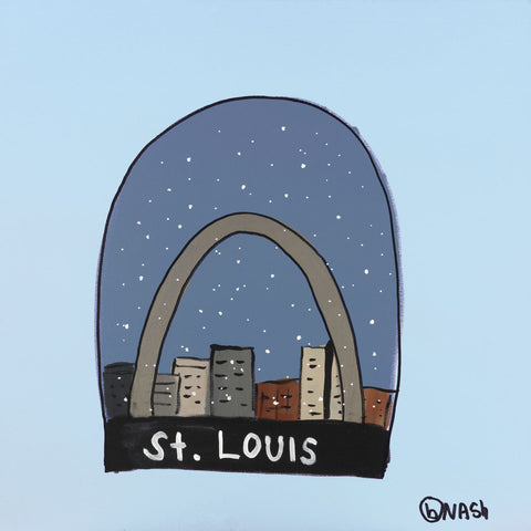 Brian Nash - St. Louis Snow Globe