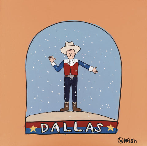 Brian Nash - Dallas Snow Globe