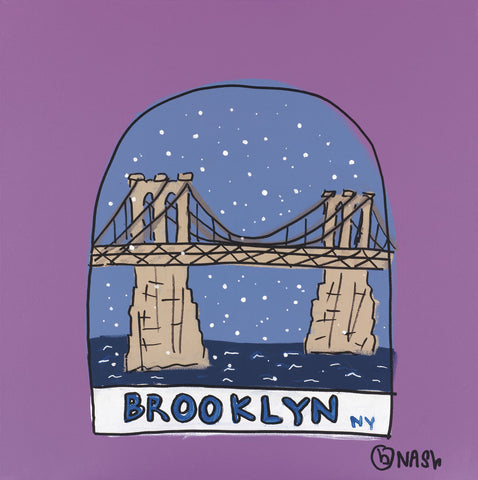 Brian Nash - Brooklyn Snow Globe