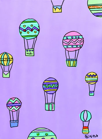 Balloons - Purple -  Brian Nash - McGaw Graphics