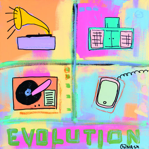 Evolution - Stereo -  Brian Nash - McGaw Graphics