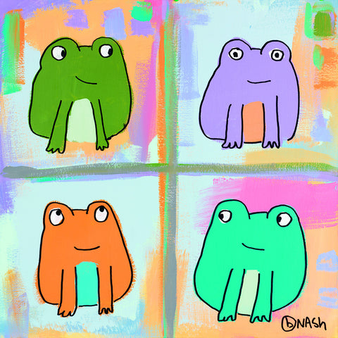 Frogs -  Brian Nash - McGaw Graphics