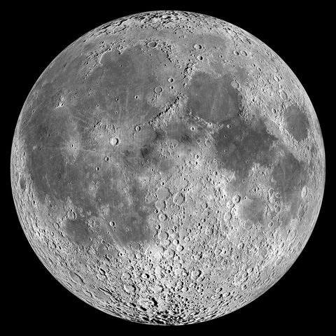 Moon -  NASA - McGaw Graphics