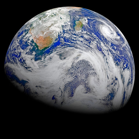 Earth (Sky View) -  NASA - McGaw Graphics