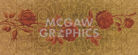 Roses Interlace -  Mali Nave - McGaw Graphics