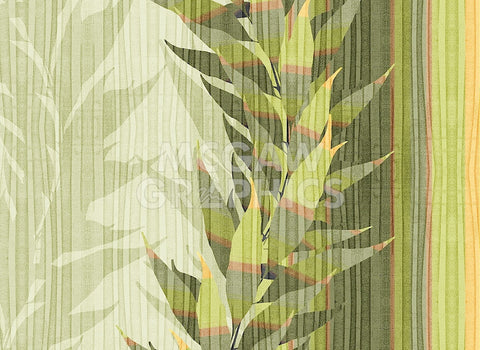 Water Leaves I -  Mali Nave - McGaw Graphics