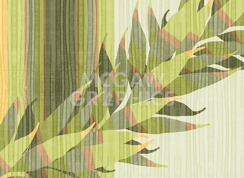 Water Leaves II -  Mali Nave - McGaw Graphics