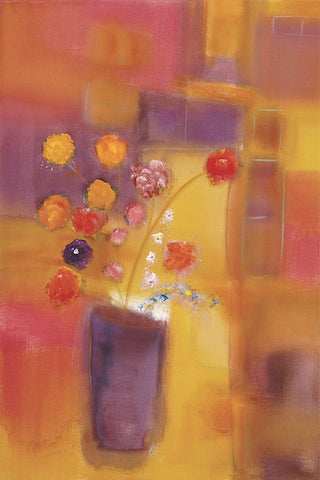 Welcoming Flowers I -  Nancy Ortenstone - McGaw Graphics