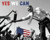Barack Obama: Yes We Can (crowd)