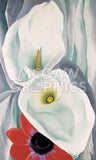 Georgia O'Keeffe - Calla Lilies with Red Anemone, 1928