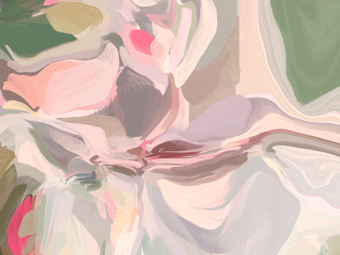 The Shades of Pink Abstract 4 -  Irena Orlov - McGaw Graphics