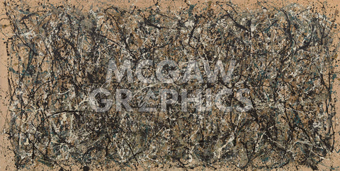One, Number 31 -  Jackson Pollock - McGaw Graphics