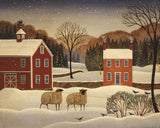 Winter Sheep I -  Diane Ulmer Pedersen - McGaw Graphics