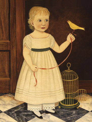 Girl with Bird -  Diane Ulmer Pedersen - McGaw Graphics