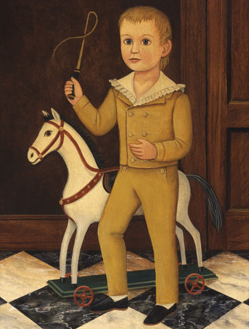 Boy with Horse -  Diane Ulmer Pedersen - McGaw Graphics