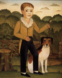 Boy with Dog -  Diane Ulmer Pedersen - McGaw Graphics