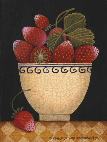 Diane Ulmer Pedersen - Cup O Strawberries