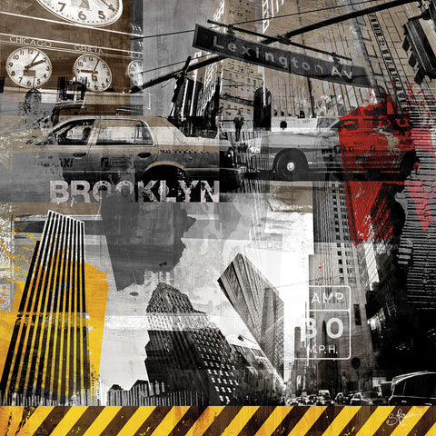 New York Streets II -  Sven Pfrommer - McGaw Graphics