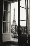 Eiffel Tower through French Doors -  Christian Peacock - McGaw Graphics