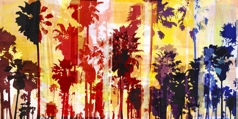 Sunset and Palms 1 -  Sven Pfrommer - McGaw Graphics