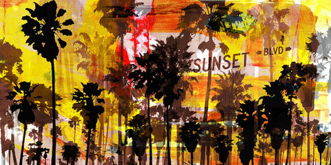Sunset and Palms 2 -  Sven Pfrommer - McGaw Graphics