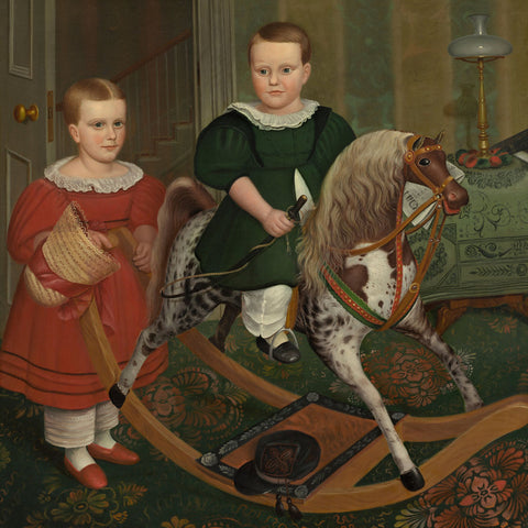 Robert Peckham - The Hobby Horse, ca. 1840