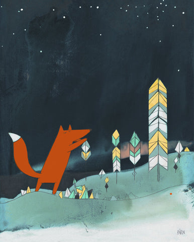 Mr. Fox is Inspired -  Kristiana Pärn - McGaw Graphics