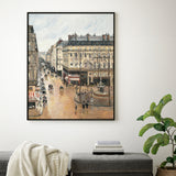 Rue Saint-Honoré in the Afternoon. Effect of Rain, 1897 -  Camille Pissarro - McGaw Graphics