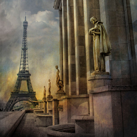 Eiffel Tower and Statues -  Dawne Polis - McGaw Graphics