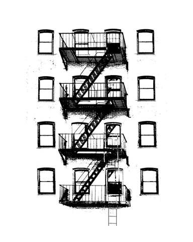 Chelsea Fire Escape 2734 -  Jeff Pica - McGaw Graphics