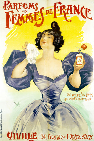 Parfums Des Femmes De France -  Jean Pal - McGaw Graphics