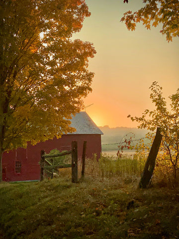 Everafter Farm at Dawn -  Dawne Polis - McGaw Graphics