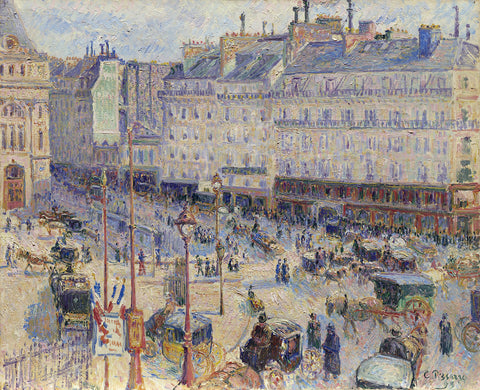 The Place du Havre, Paris, 1893
