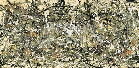 Number 8, 1949 -  Jackson Pollock - McGaw Graphics
