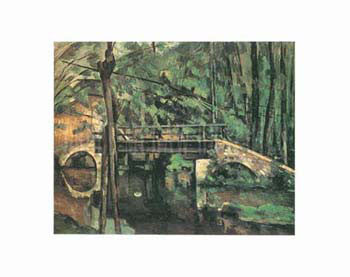 Paul Cezanne - Bridge of Maincy Melun