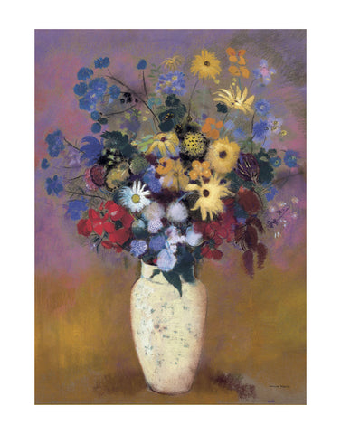 Vase of Flowers, 1914 -  Odilon Redon - McGaw Graphics