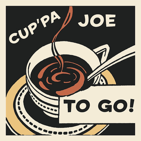 Retro Series - Cup'pa Joe to Go