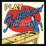 Play Shuffleboard -  Retro Series - McGaw Graphics