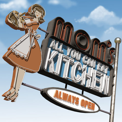 Mom's All-You-Can-Eat Kitchen -  Anthony Ross - McGaw Graphics