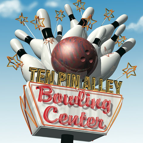 Ten Pin Alley Bowling Center -  Anthony Ross - McGaw Graphics