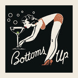 Retro Series - Bottoms Up
