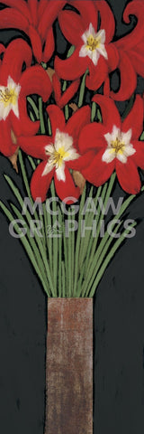 Red Hot Lilies -  Rachel Rafferty - McGaw Graphics
