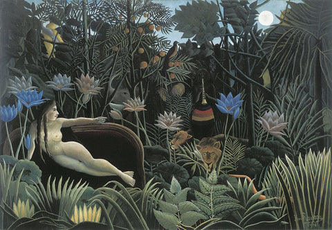 The Dream -  Henri Rousseau - McGaw Graphics