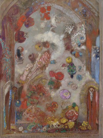 The Window, c. 1907 -  Odilon Redon - McGaw Graphics